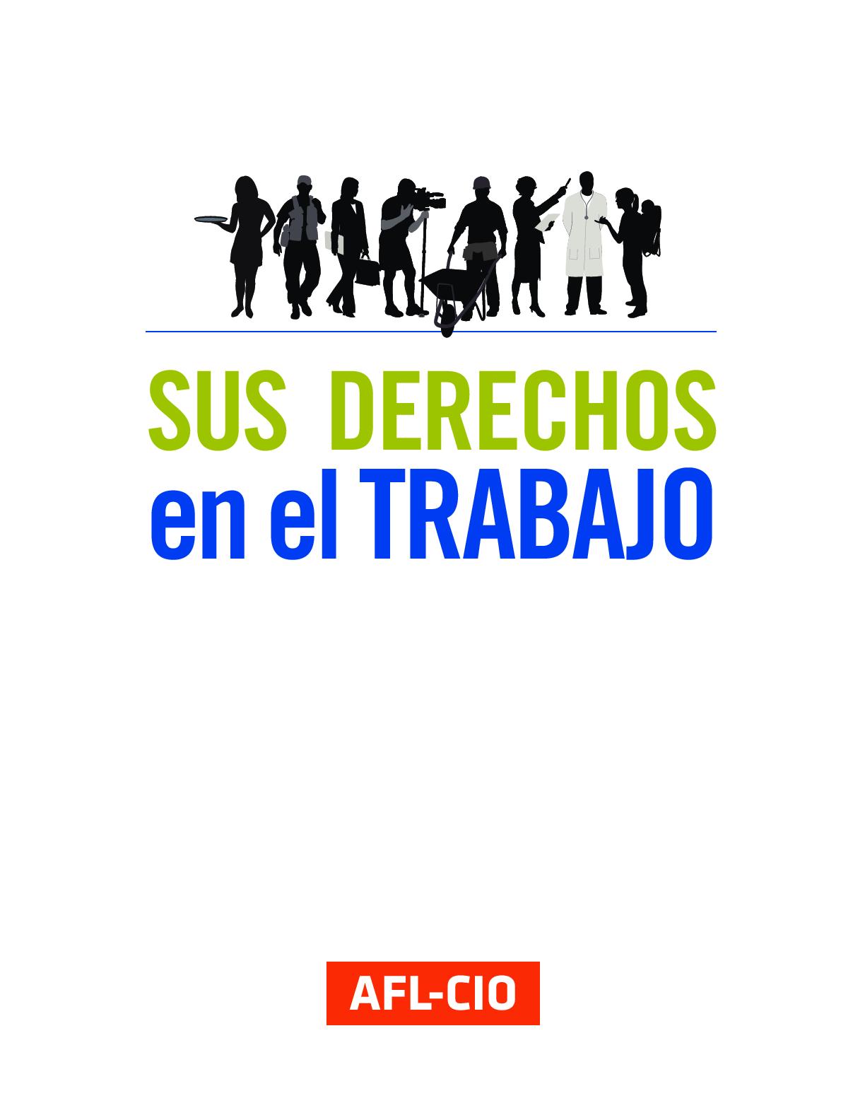 Sus Derechos en el Trabajo   AFL-CIO 13ef4054ce