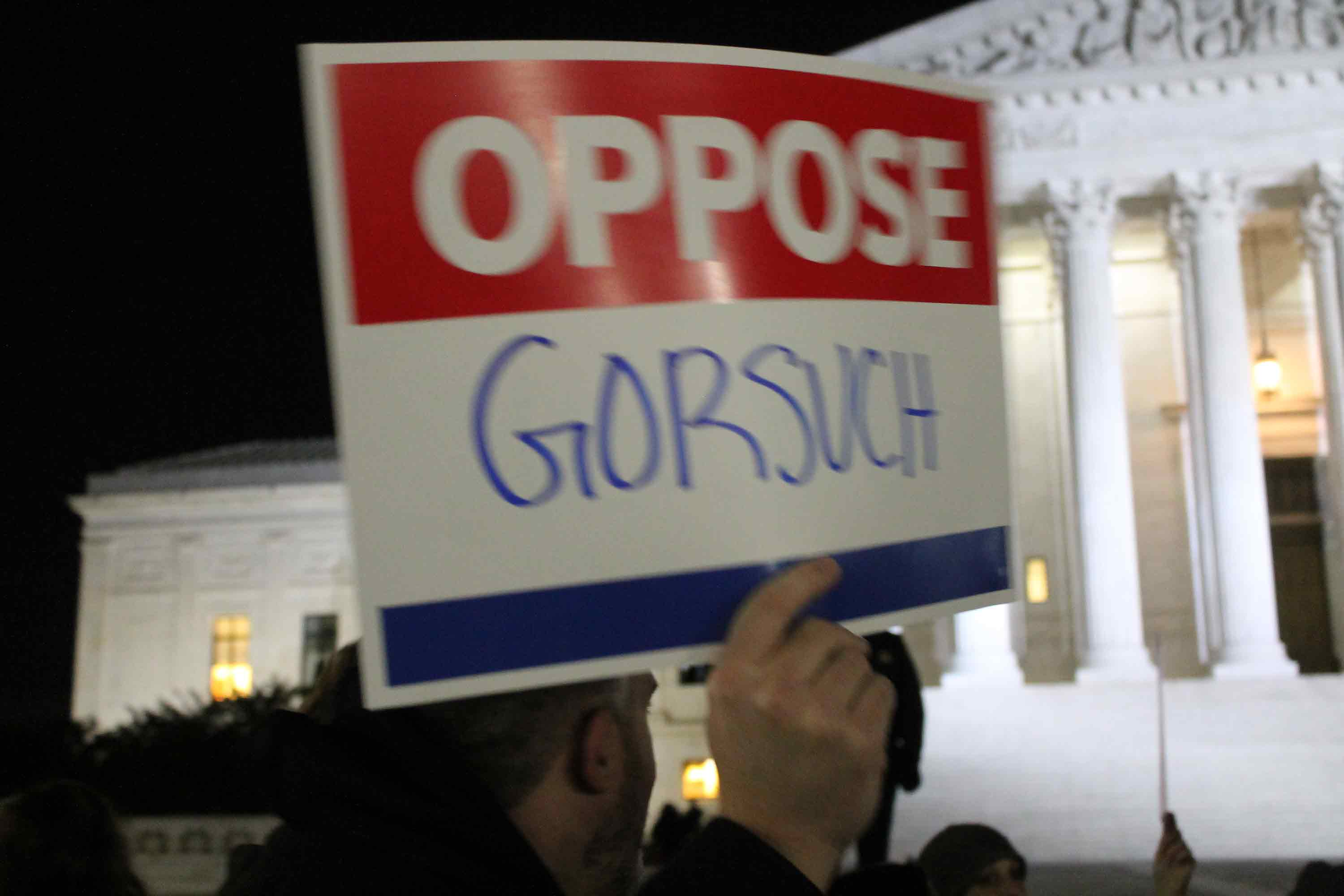 Oppose Gorsuch Now