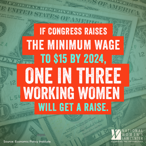 How raising the minimum wage would help working women