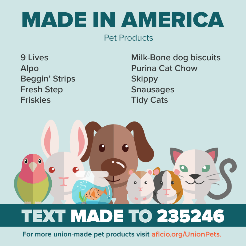 Union Made in America Pet Products