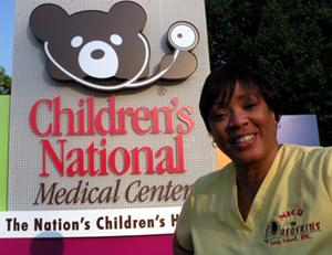 Nurse Sandy Falwell