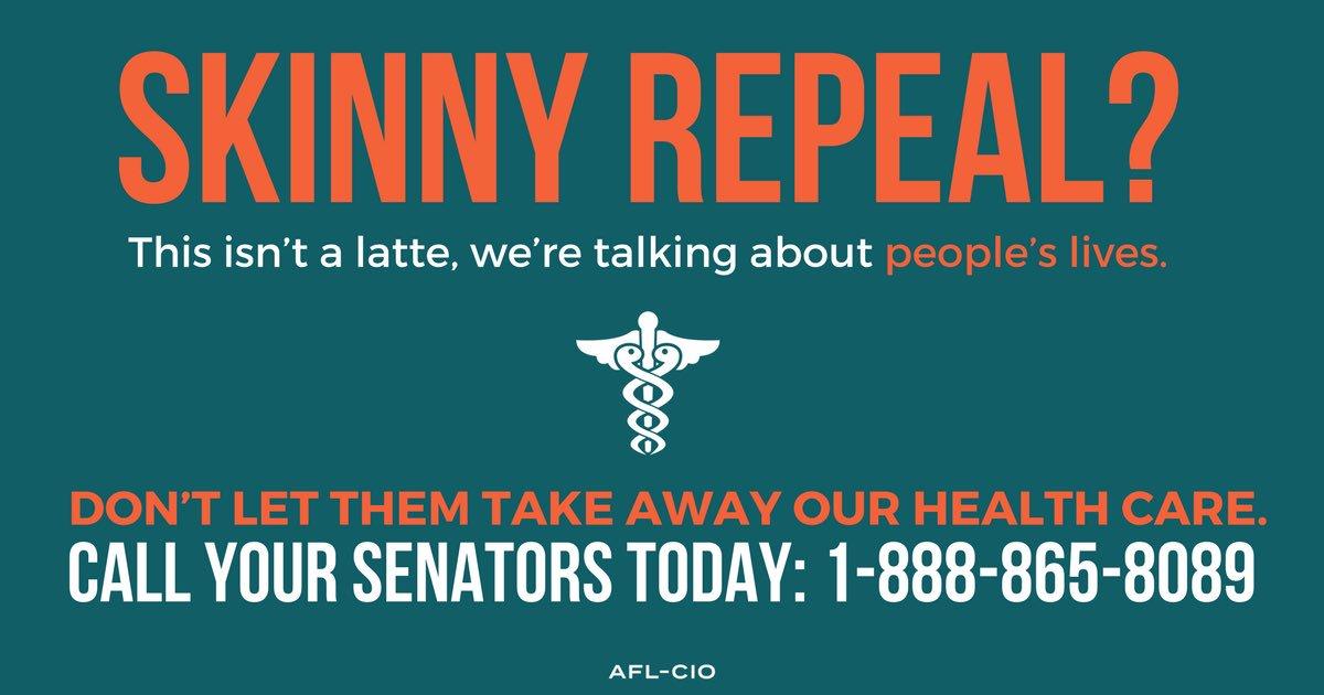 ACA Skinny Repeal