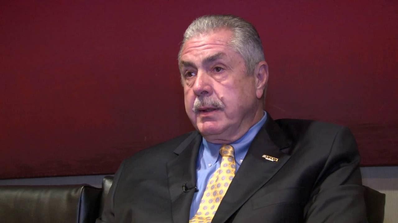 UFCW President Marc Perrone