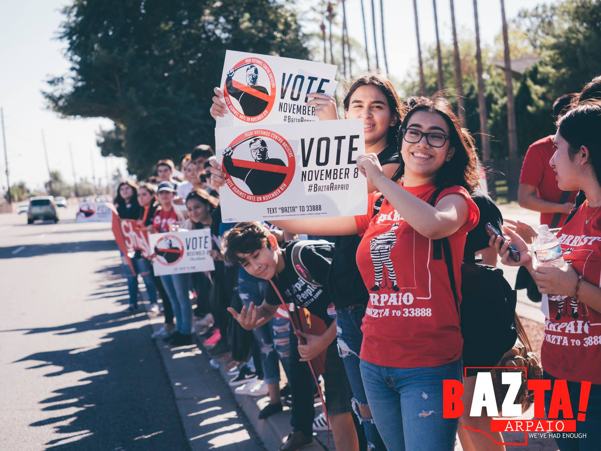Getting out the vote to stop Joe Arpaio