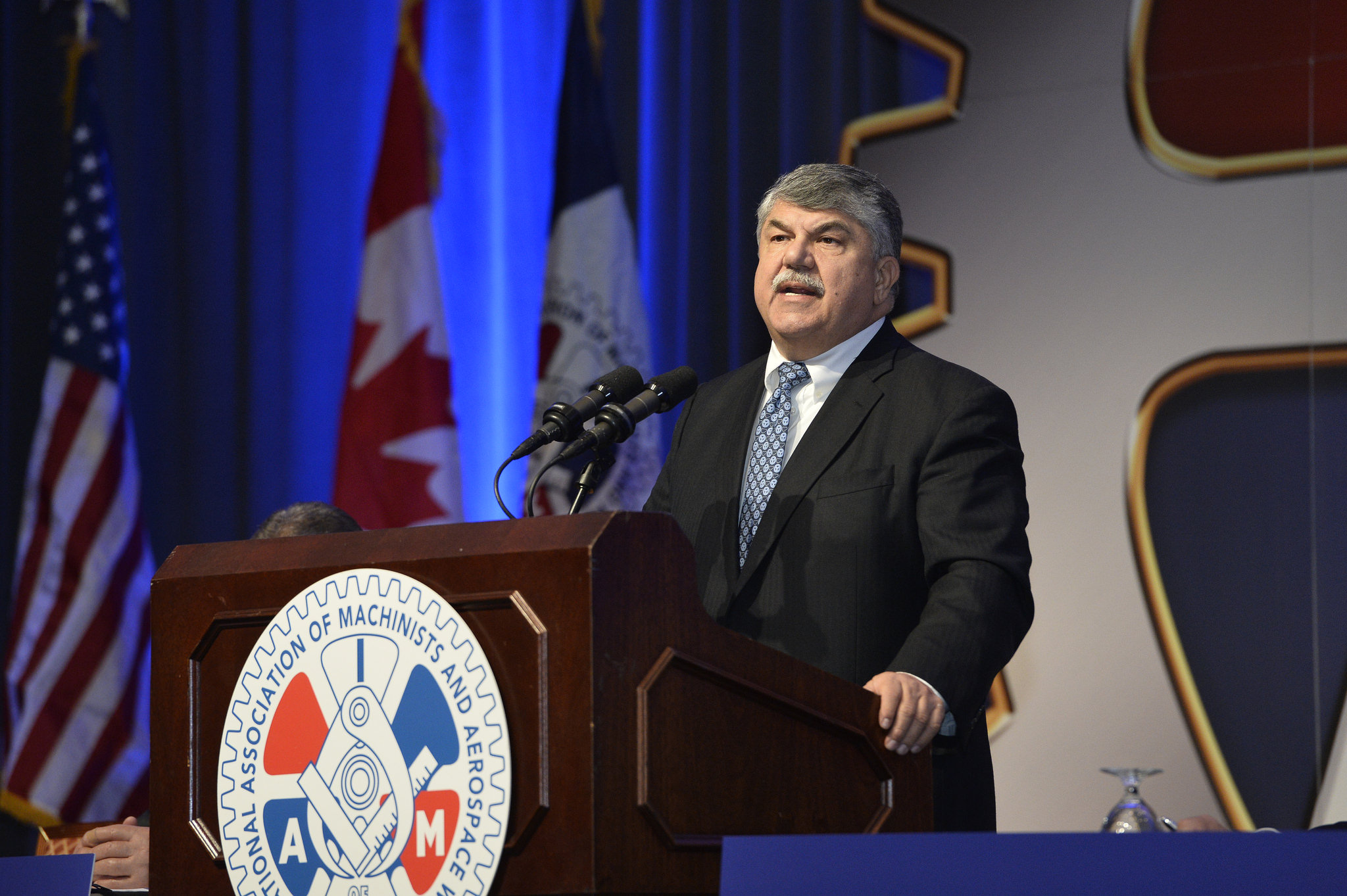 Rich Trumka speaks at Machinists Convention.