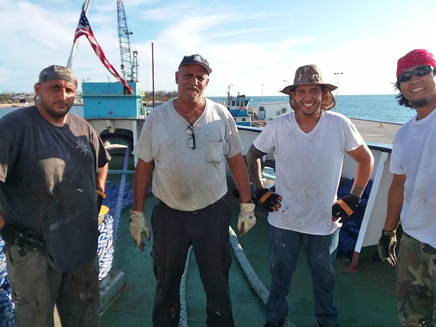 Seafarers traveling to Puerto Rico