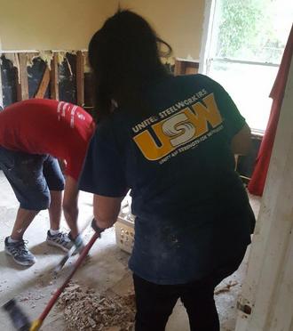 Hurricane Harvey clean-up