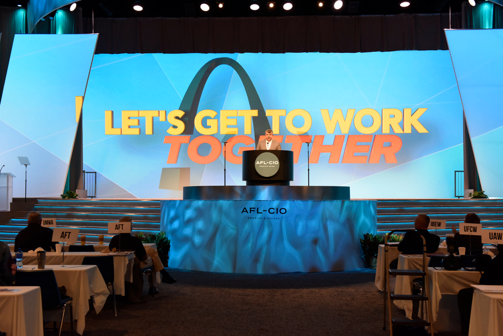 Day four of the AFL-CIO Convention.