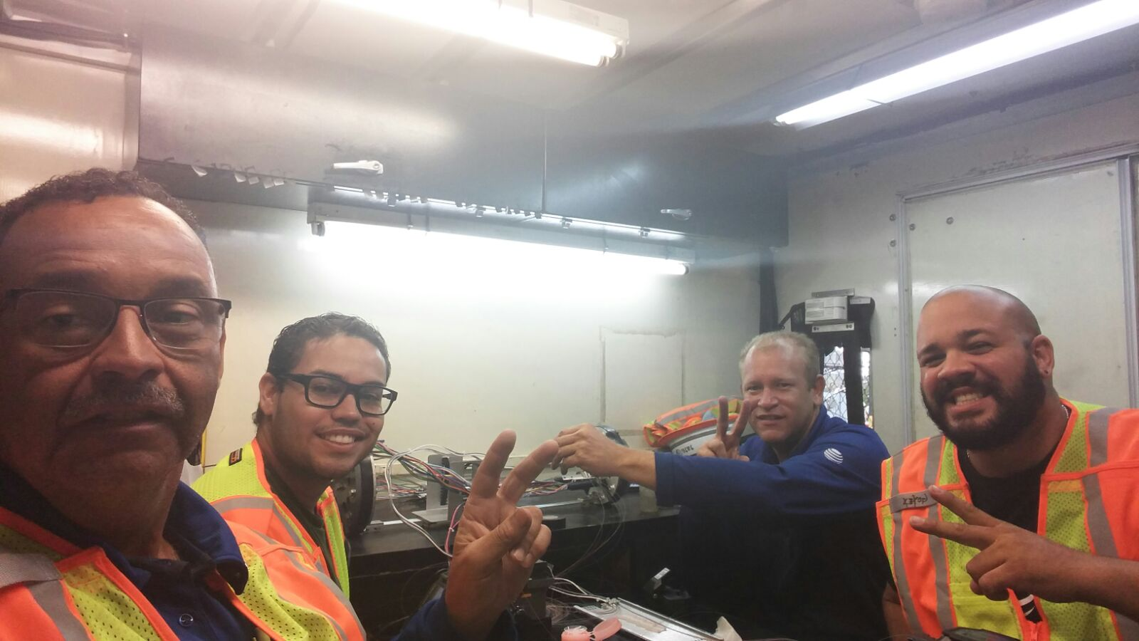 CWA workers in Puerto Rico