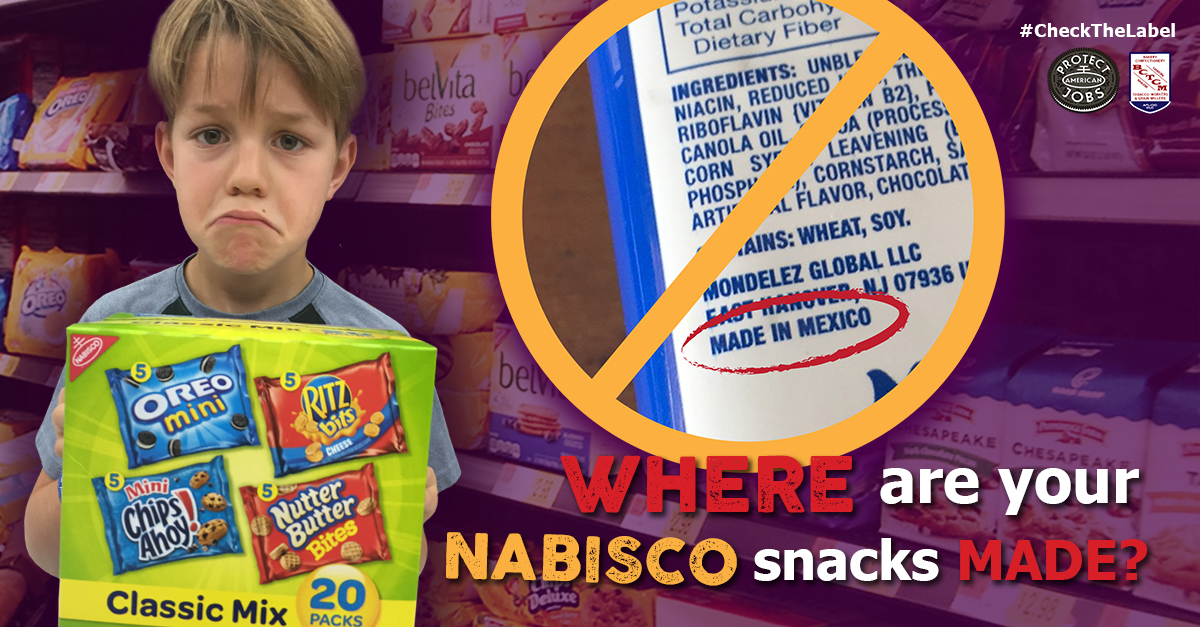 working people stand up to nabisco s outsourcing on national day of