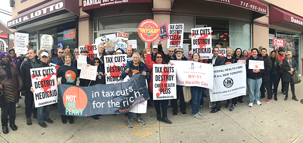 CWA Tax Bill Rally NY
