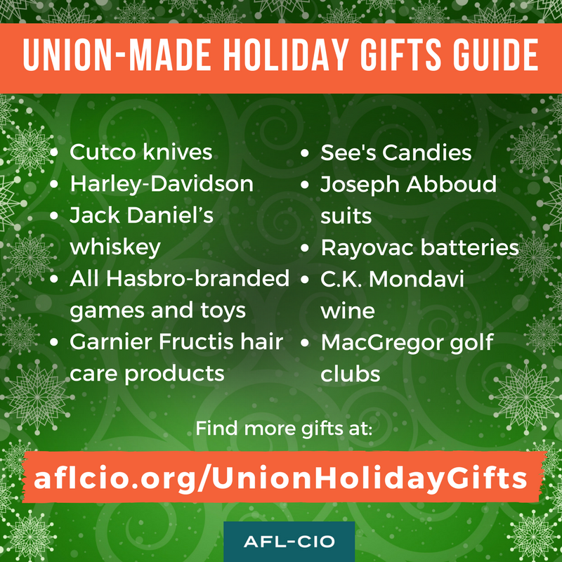 Union Made Holiday