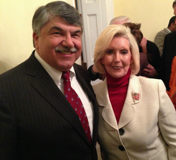 Richard Trumka & Lilly Ledbetter