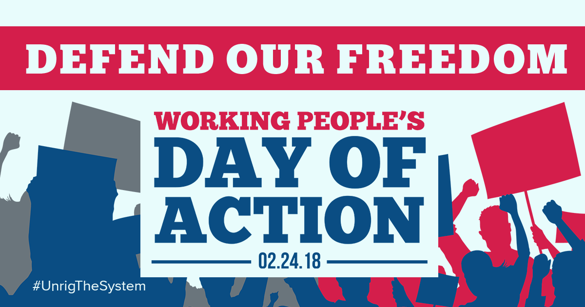 Find an Action: Join the Working People's Day of Action