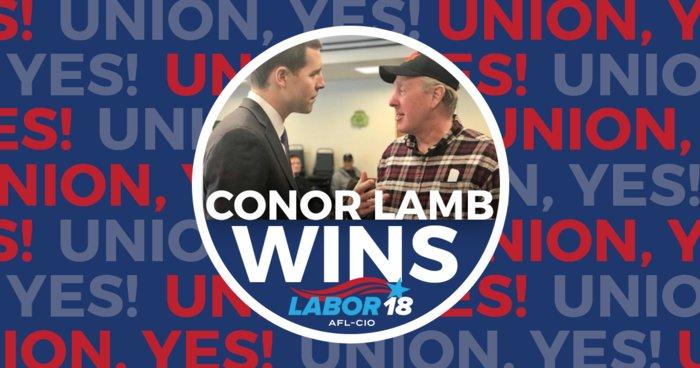 Conor Lamb victory!