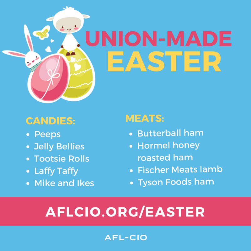Union-Made Easter