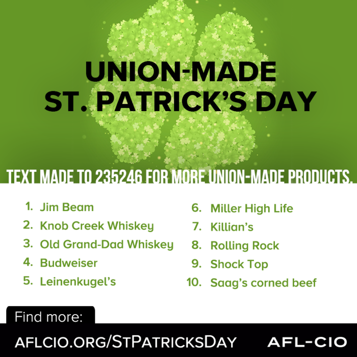 Union-Made St. Patrick's Day