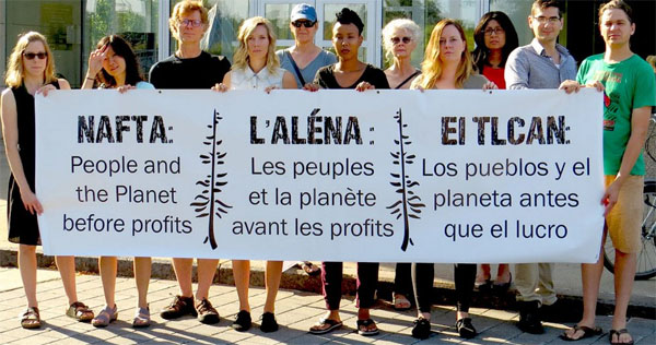 NAFTA Protest