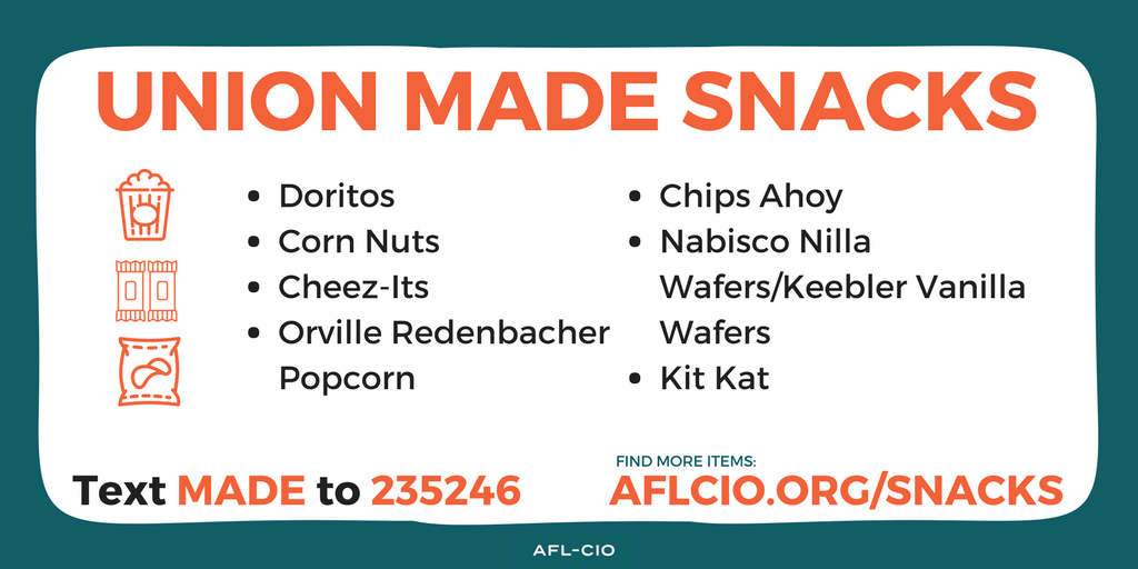 Union-Made Snacks