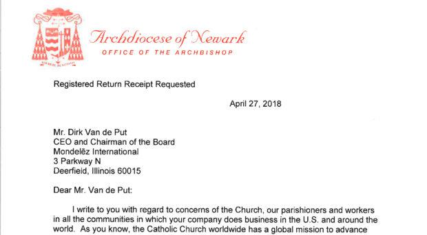 Cardinal Tobin letter