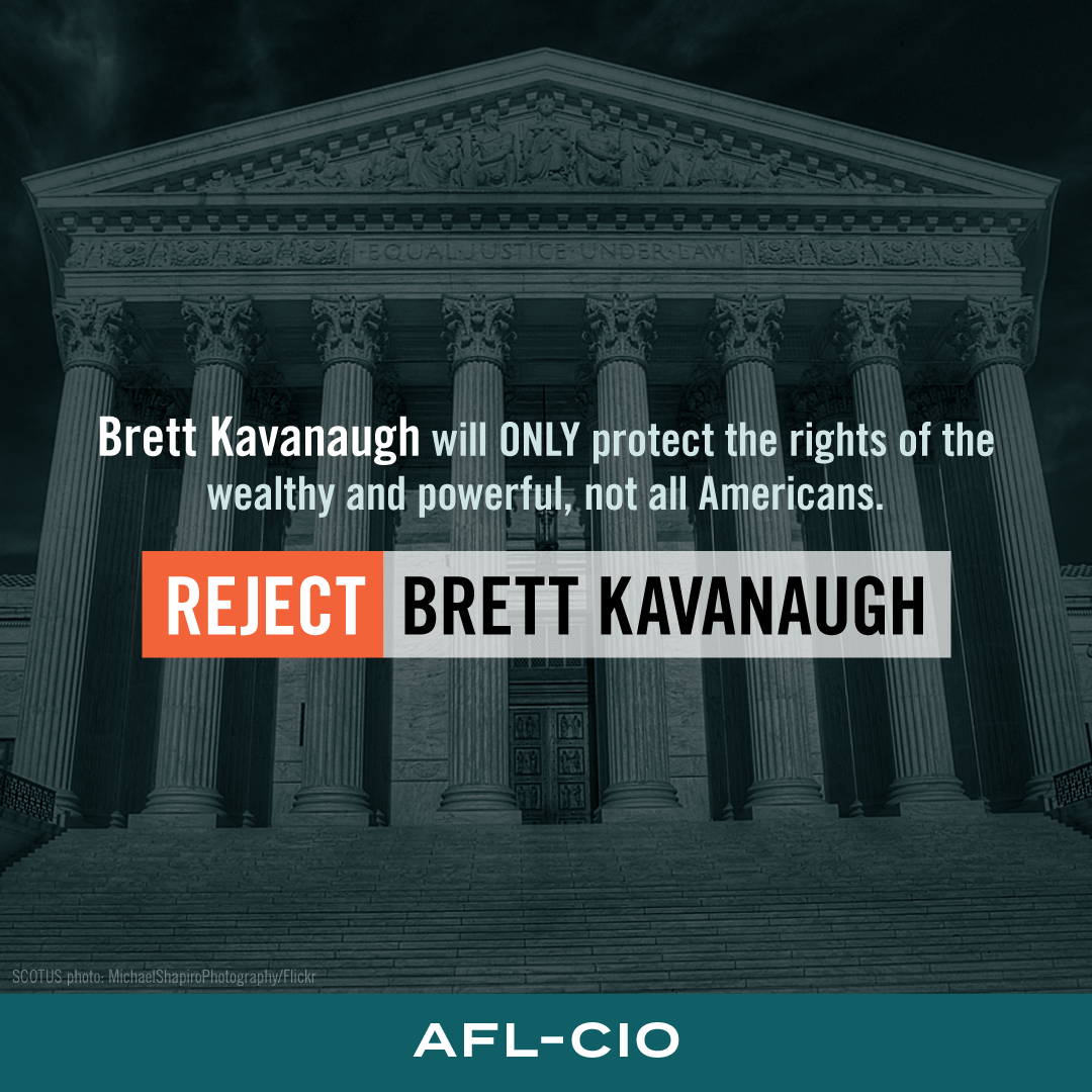 Reject Brett Kavanaugh