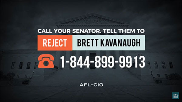 Reject Kavanaugh