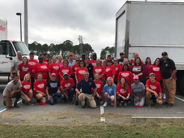 Florida Teachers respond to Hurricane Michael