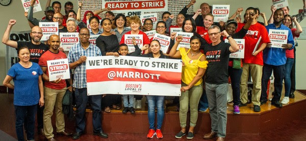 Marriott Strike