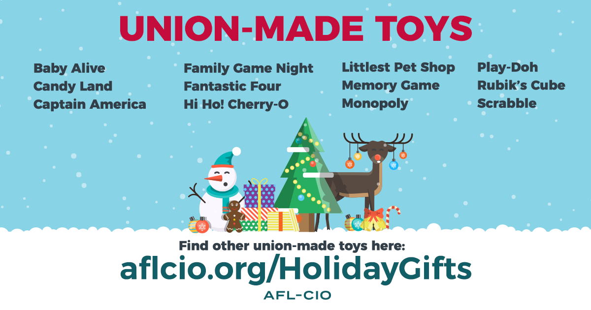Union-Made Toys