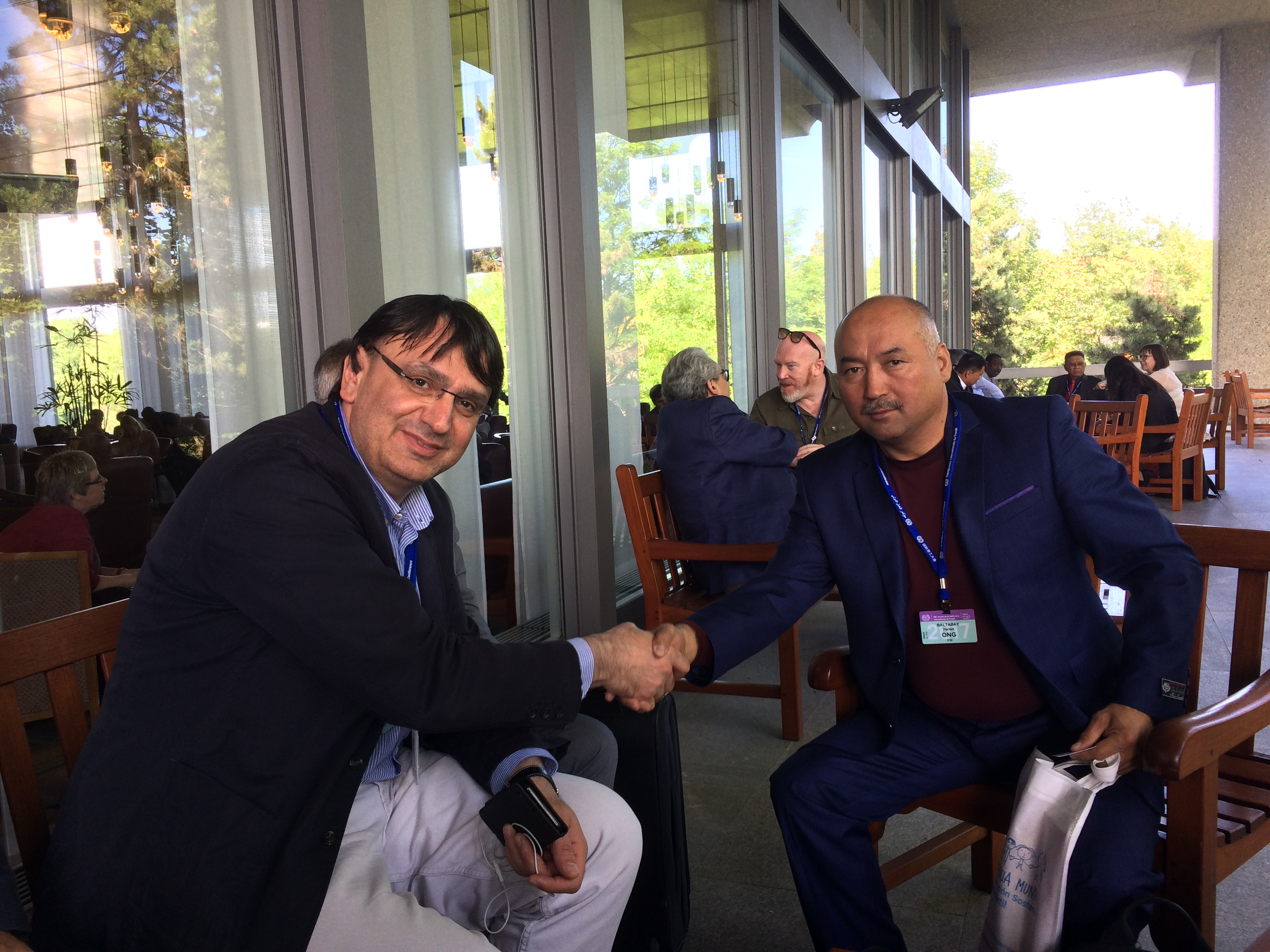Kemal Ozkan Meets Yerlan Baltabay