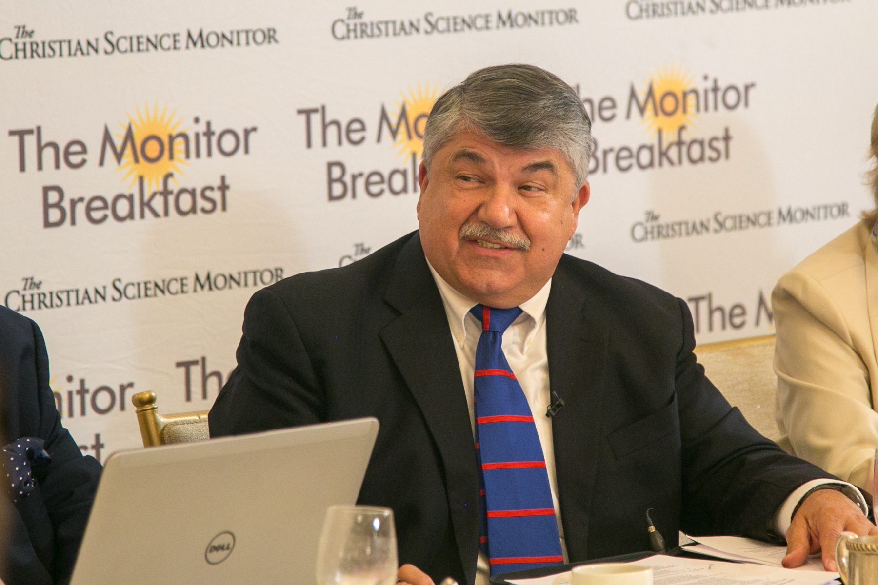 Trumka at 2019 Christian Science Monitor Breakfast
