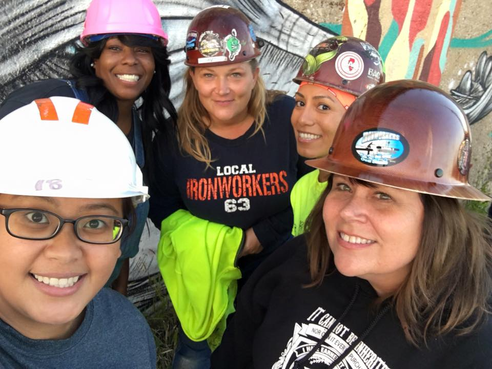 Women wear hardhats, too!