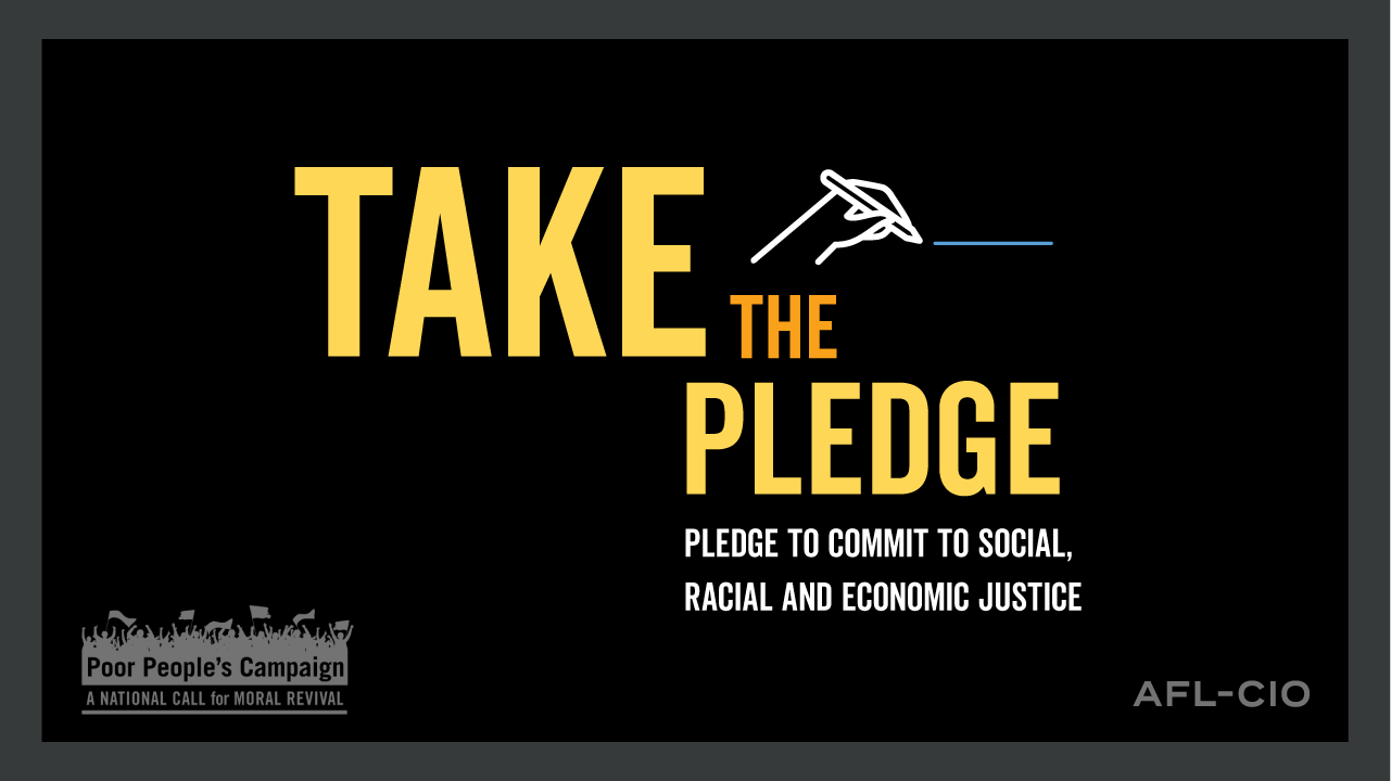 Take the Pledge: Commit to Racial, Social and Economic Justice