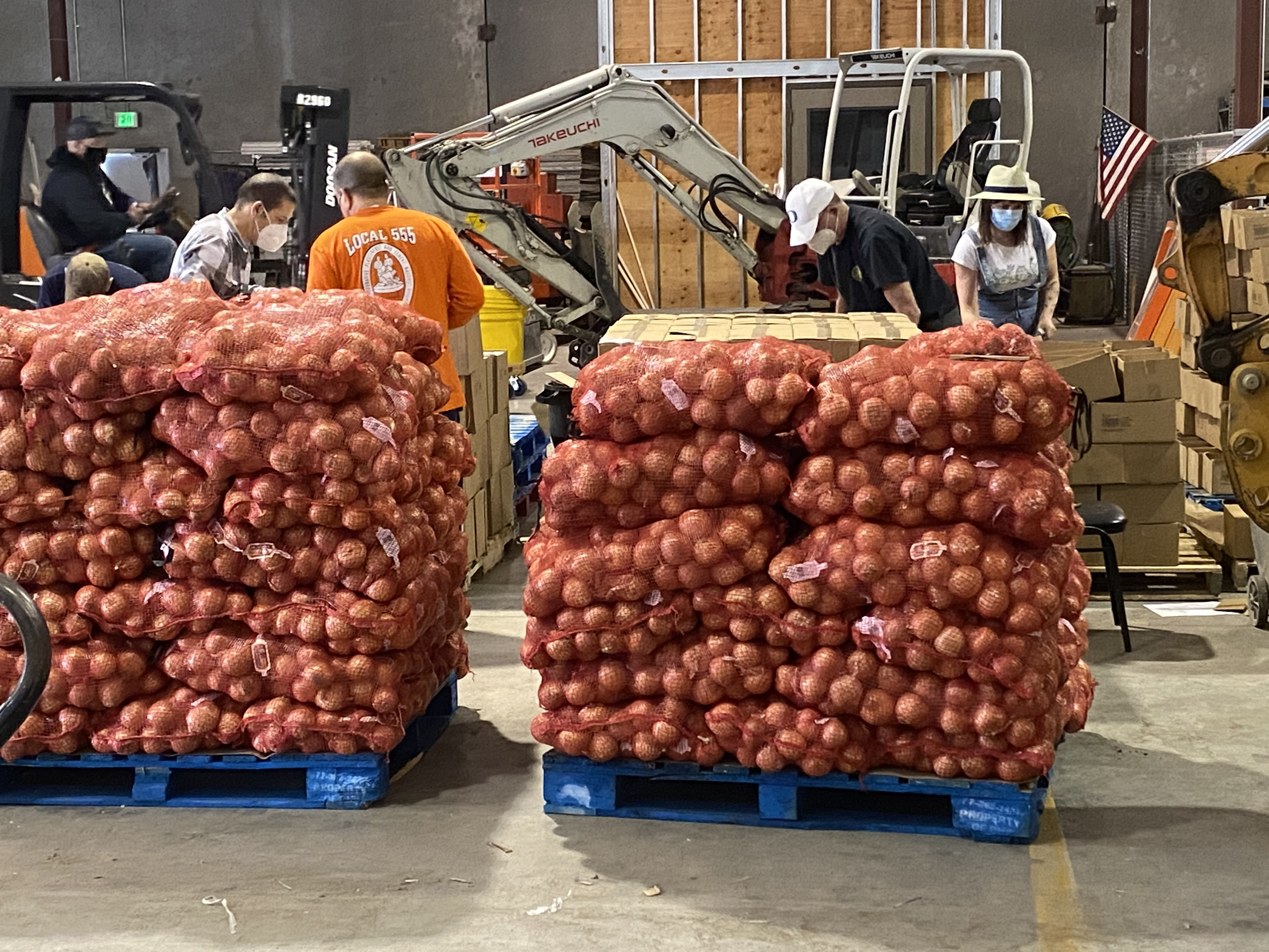 NW Oregon food distribution