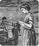 Lowell Mill Women Create First Union of Working Women