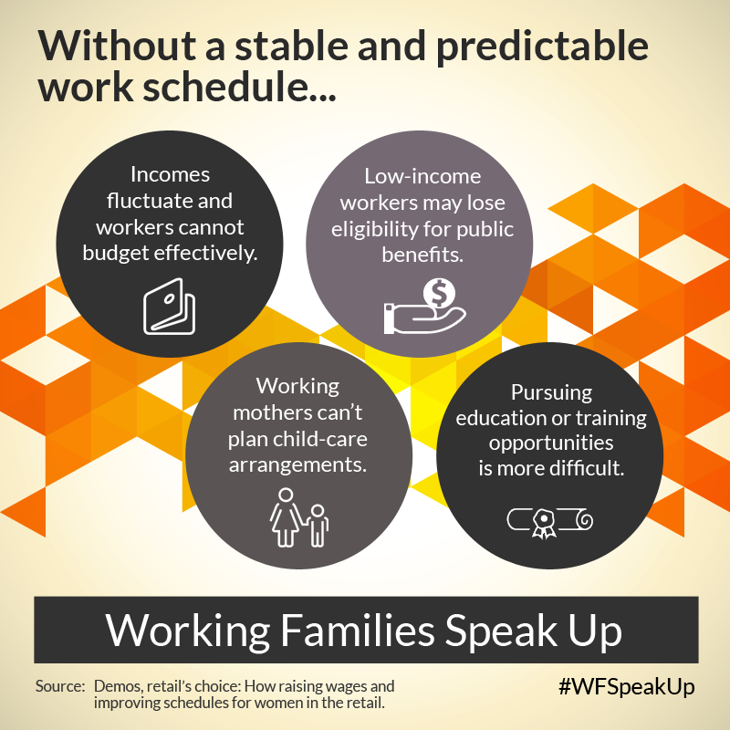 11 ways the schedules that work act would make the lives of