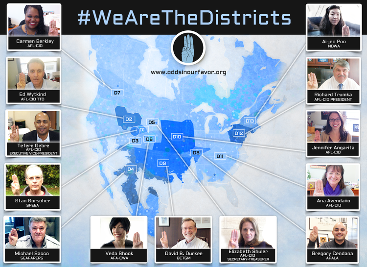 #WeAreTheDistricts